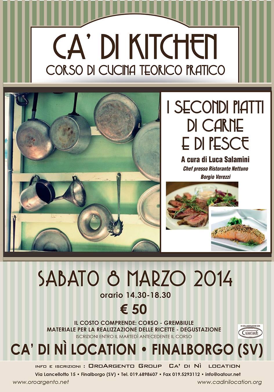 Corso di cucina su carne e pesce 08 marzo - Corsi di cucina genova ...